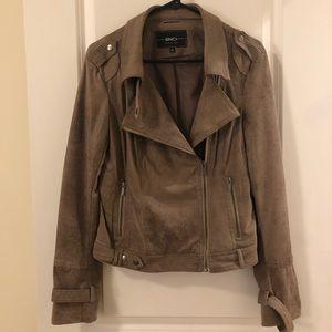 Nordstrom BNCI faux suede moto jacket